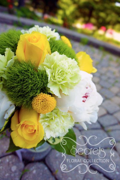 17pcs Wedding Bouquet Silk Bridal Flower Package Turquoise Blue