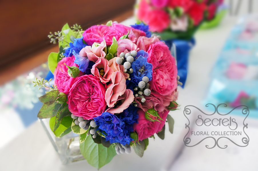 Pink Blue And White Wedding Bouquets : Bridal bouquets secrets floral collection toronto