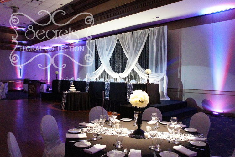 Draping Backdrops Head Tables Etc On Pinterest Wedding Backdrops Backdrops And Head Tables