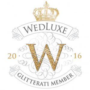 Wedluxe Glitterai Membership Badge 2016