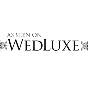 As seen on WedLuxe