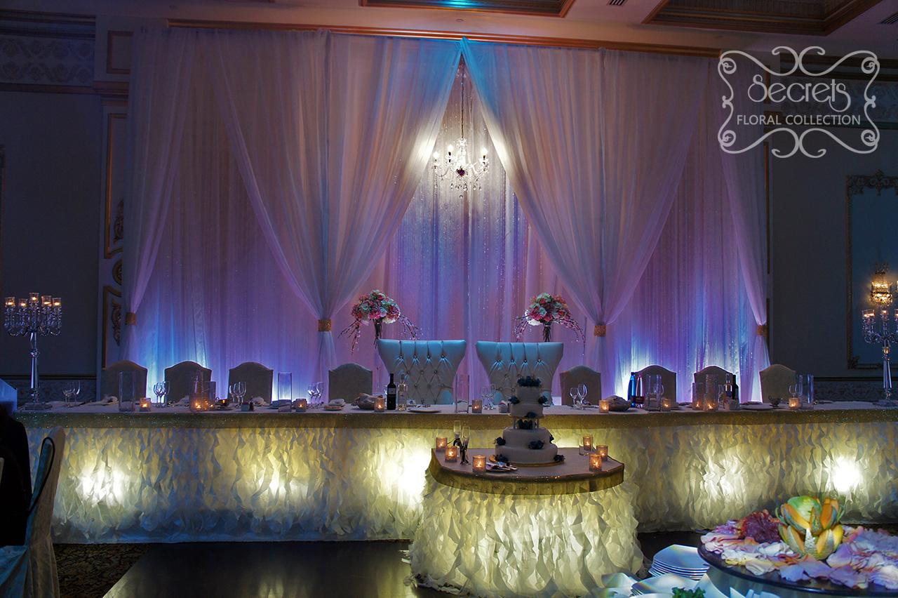 A Winter Wonderland Wedding Reception Decoration Best Of Toronto