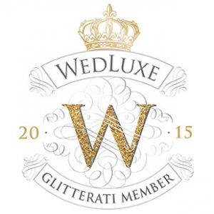 Wedluxe Glitterai Membership Badge 2015