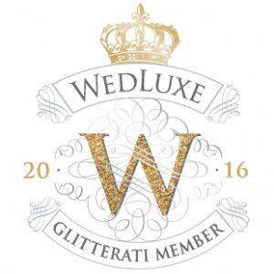 Wedluxe Glitterai Membership Badge 2016