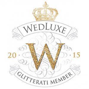 Wedluxe Glitterai Membership Badge 2015
